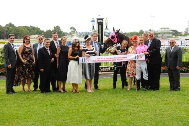 Congratulations to the winners of the HQ Insurance Starlight Stakes